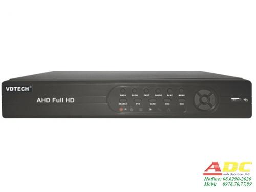 Đầu ghi hình AHD 8 kênh VDTECH VDT-3600CAHD